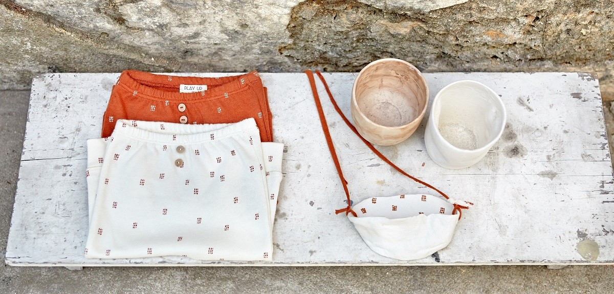 Clothing and Anna Westerlund ceramics