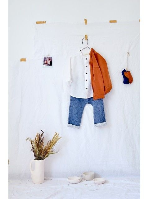 Boy's linen Shirt and Jeans