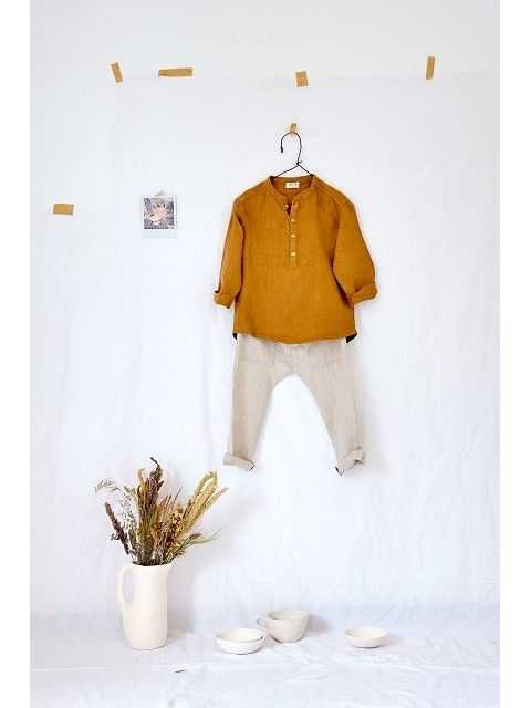 Linen Shirt for Boy