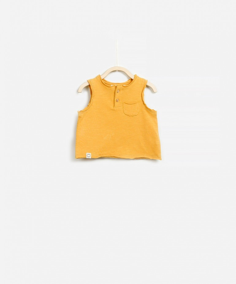 Flamê Jersey Sleeveless T-shirt