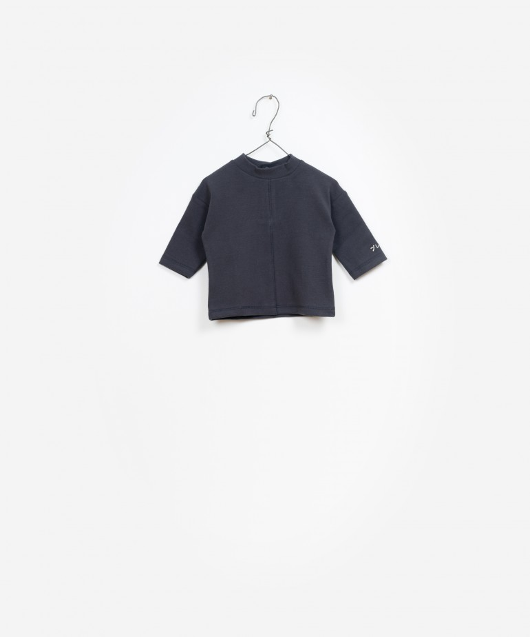 LS Rib Turtleneck T-Shirt