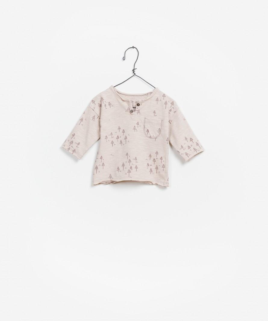 LS Printed  Flamê Jersey T-Shirt