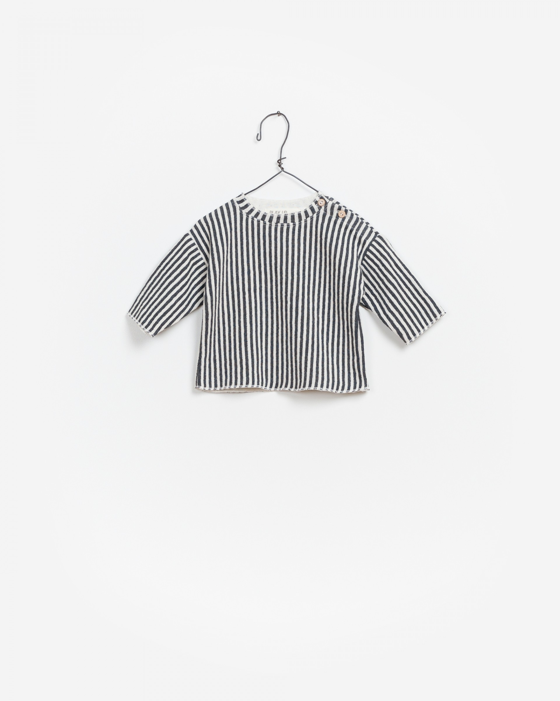 Striped Double Face Sweater