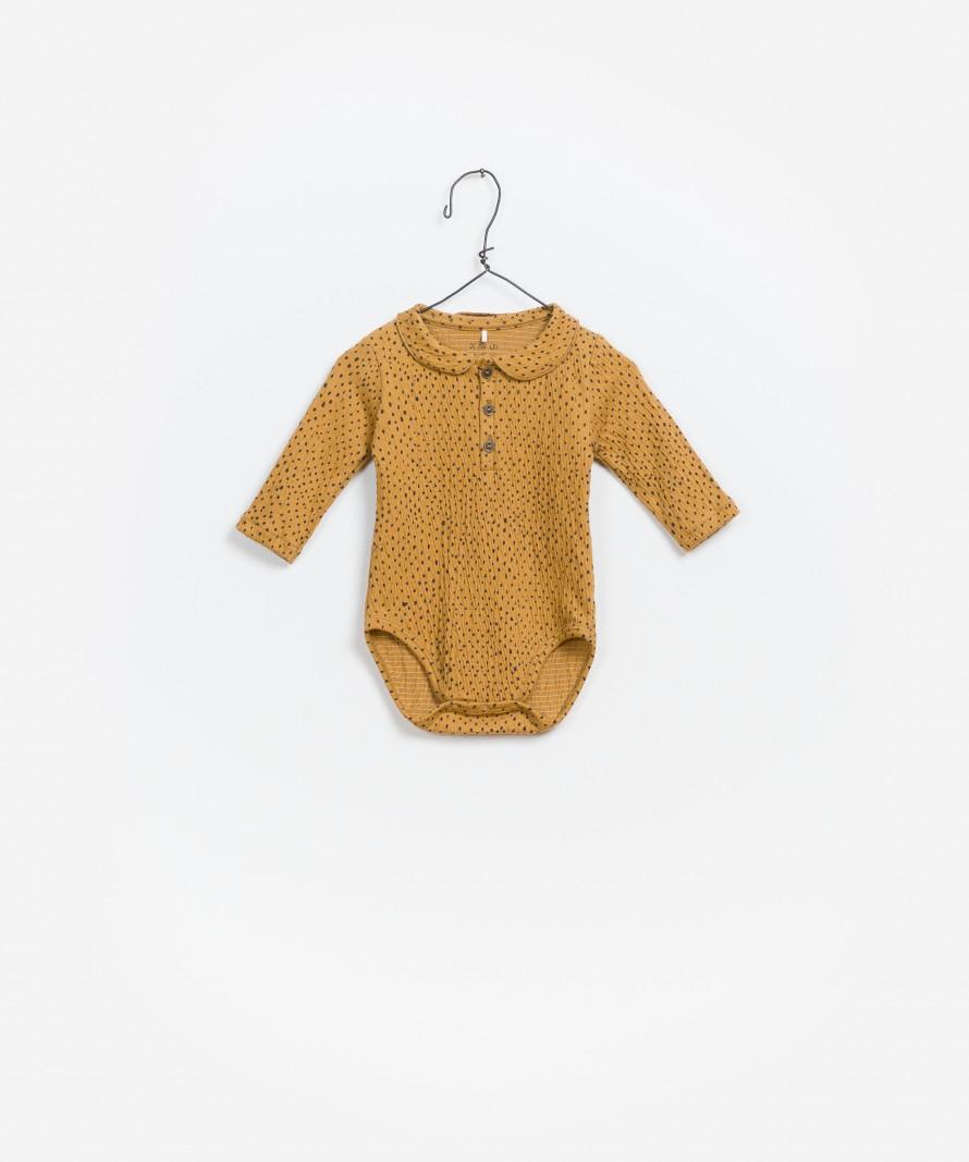 Printed Jersey Bodysuit