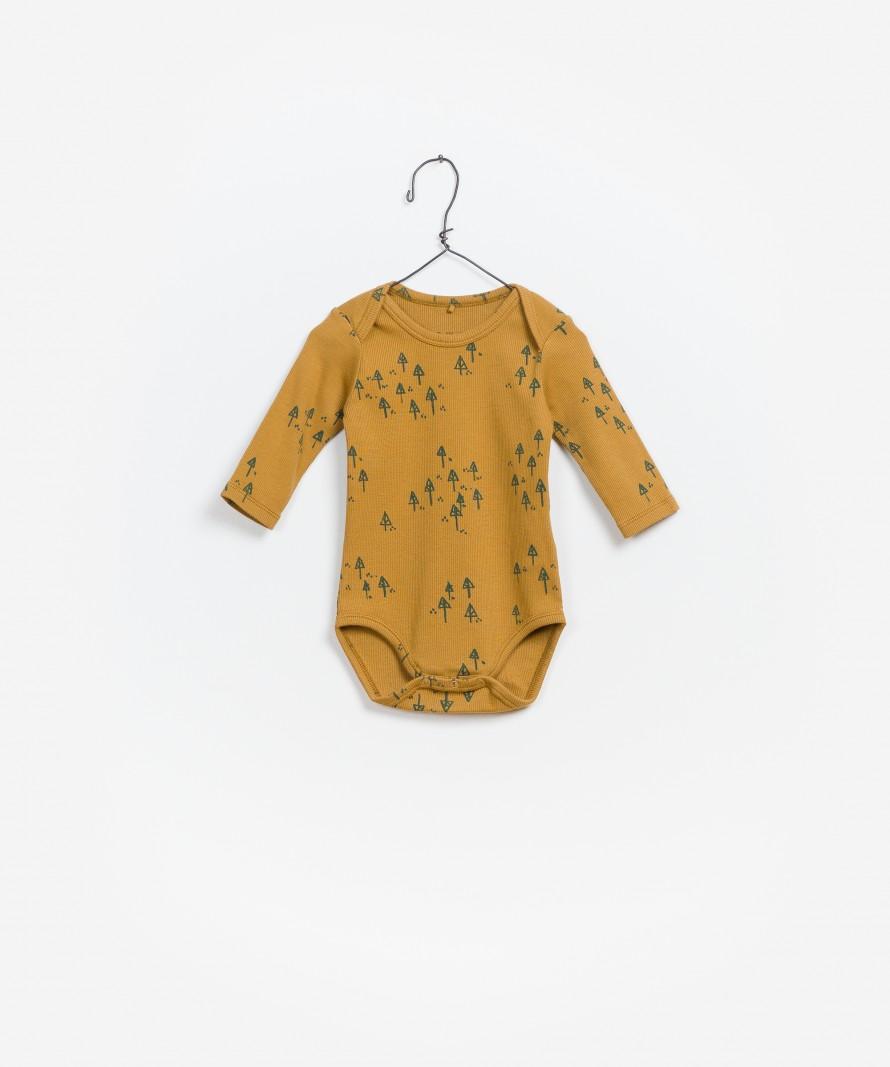 Printed RIB Bodysuit