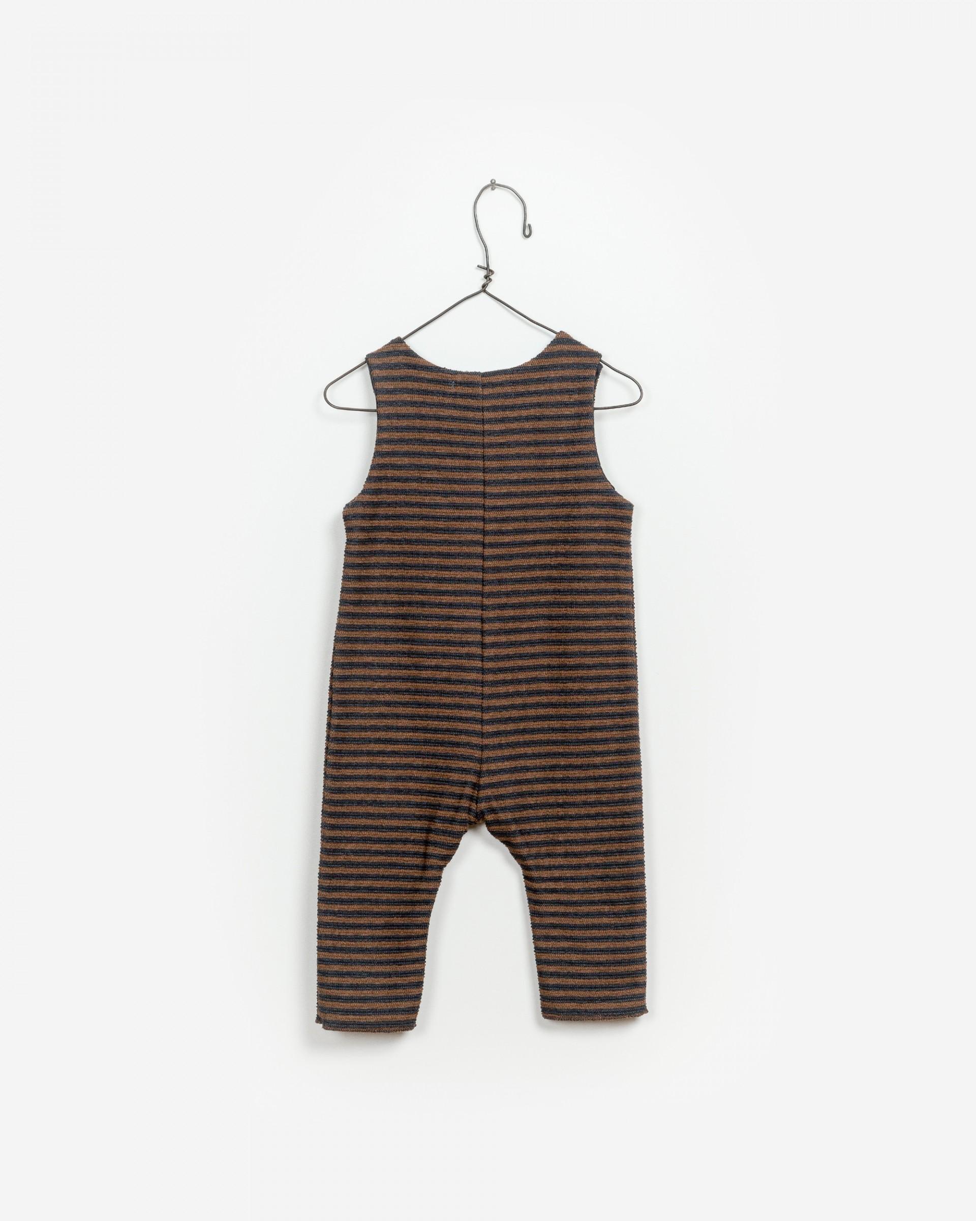 Striped Interlock Jumpsuit