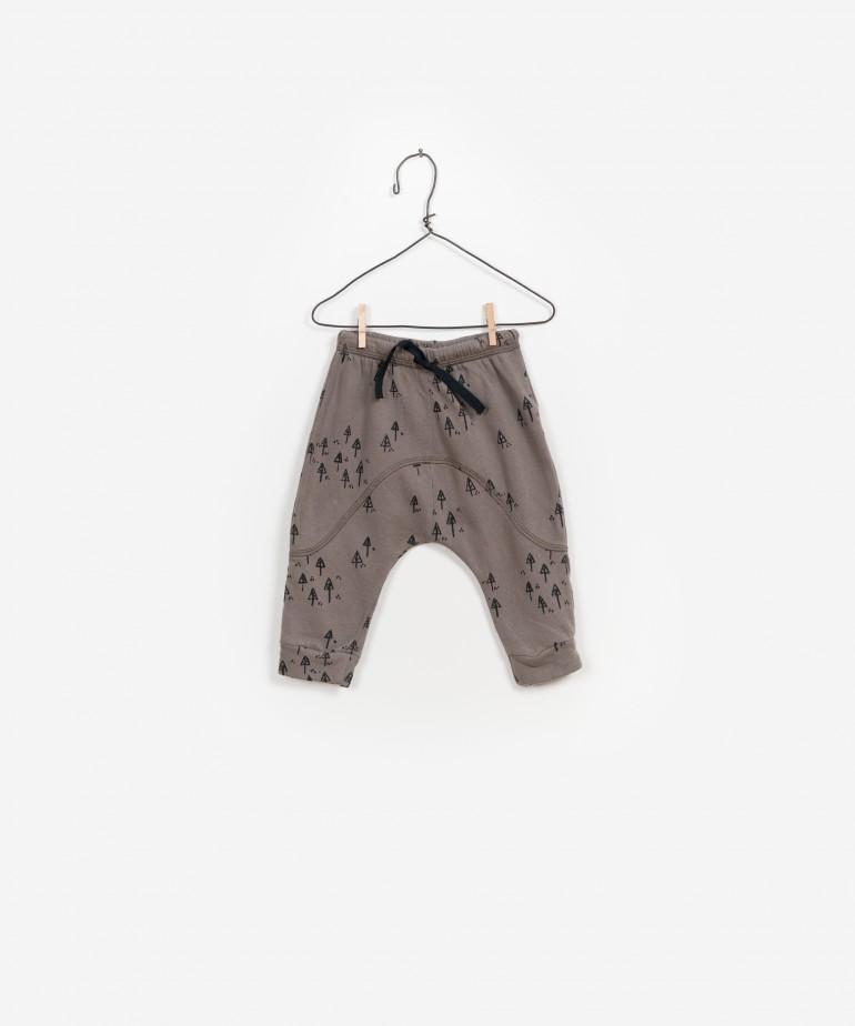 Pantalón Felpa Estampado