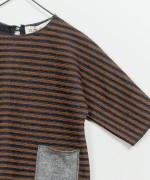 Striped Interlock Sweater