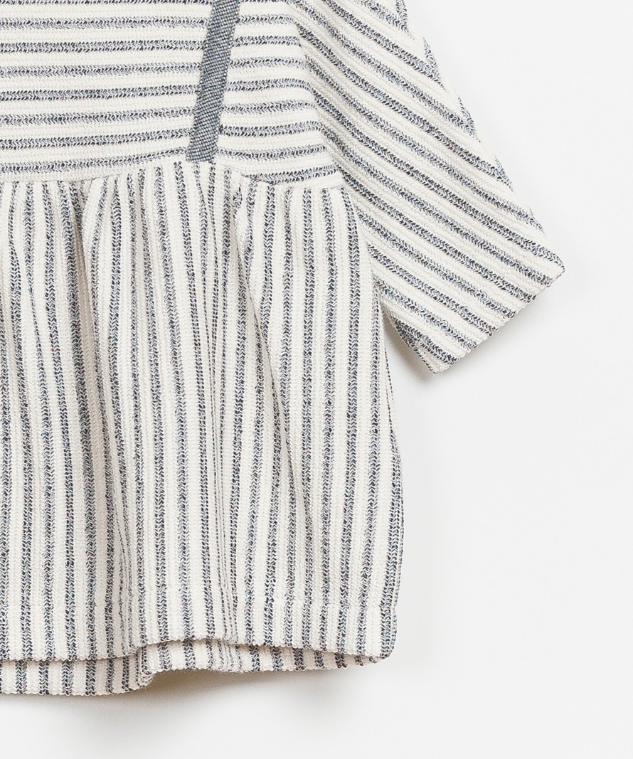 Striped Interlock Dress