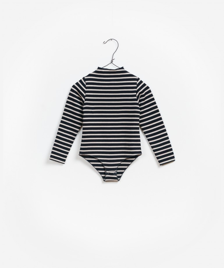 Striped Ponto Roma Bodysuit