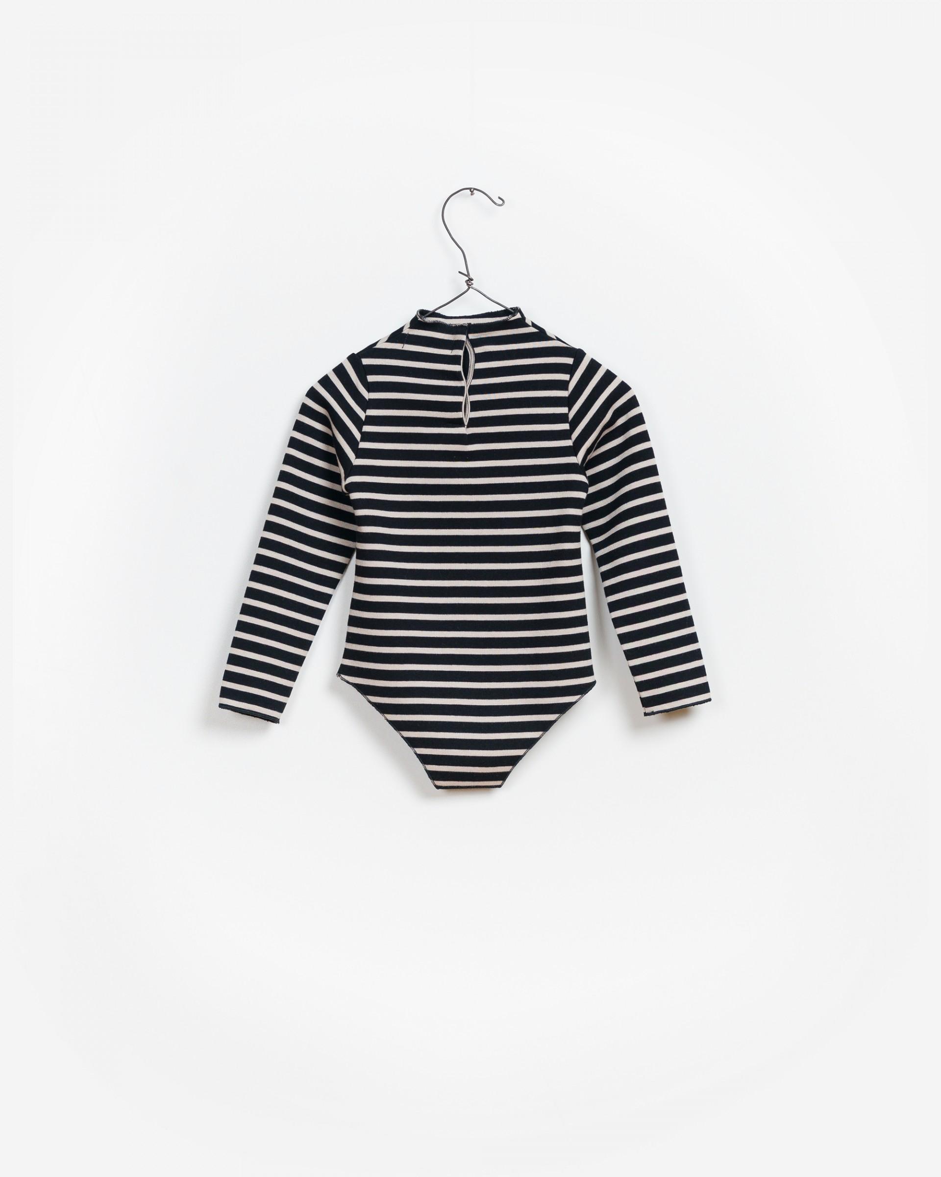 Striped Ponto Roma Bodysuit