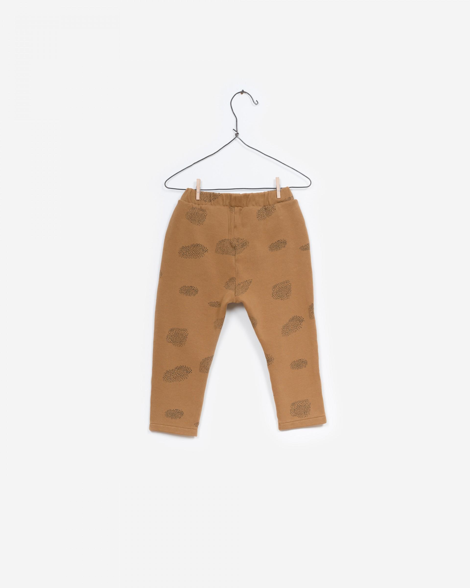 Printed Fleece Trousers