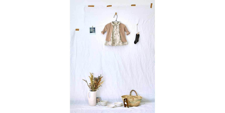 Baby girl clothes | linen dress