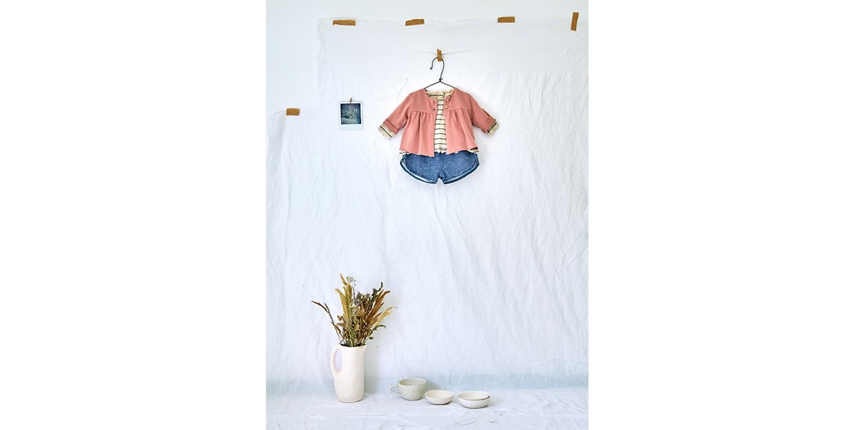 Baby girl clothes | basic jacket