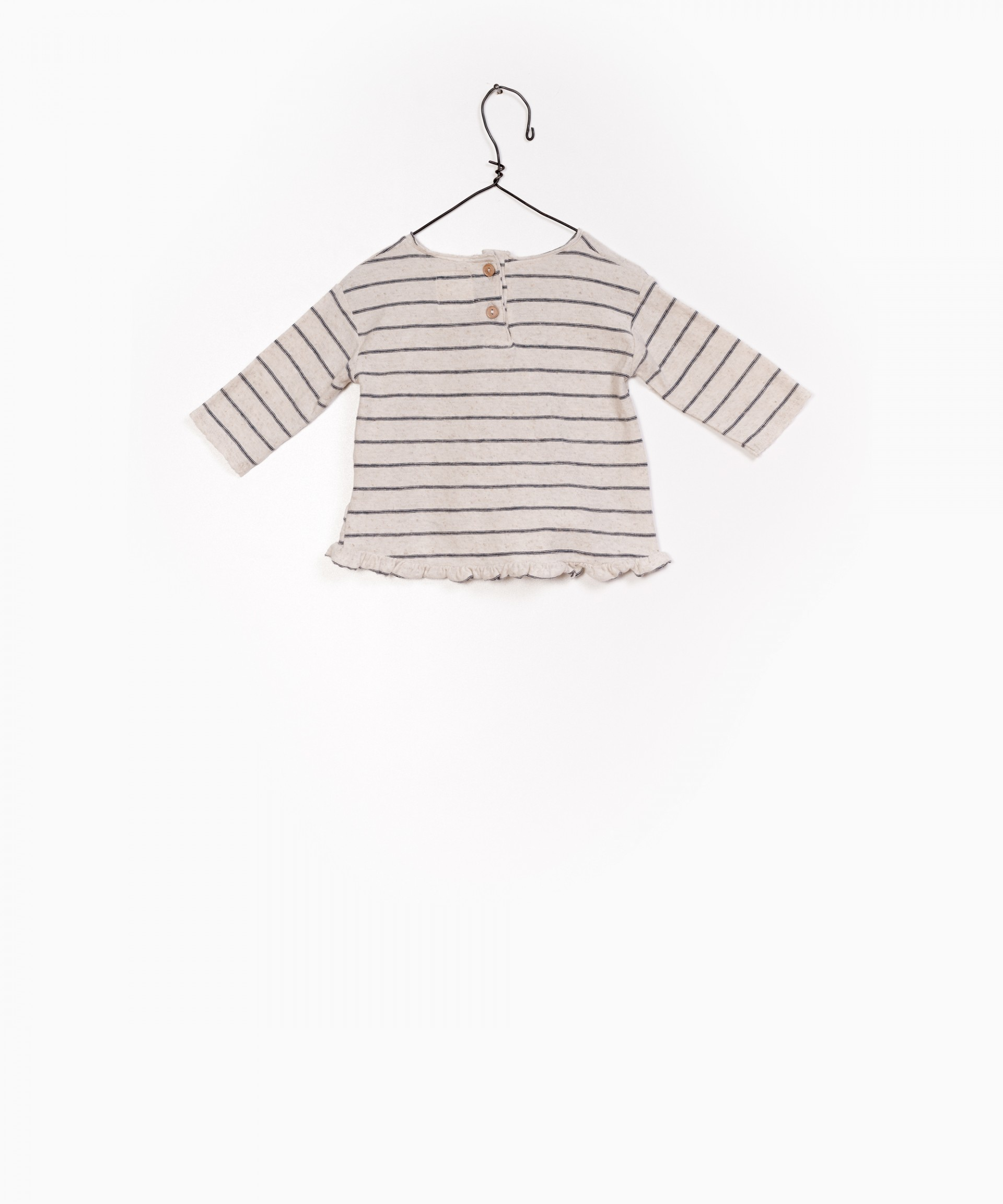 Striped Jersey LS T-Shirt