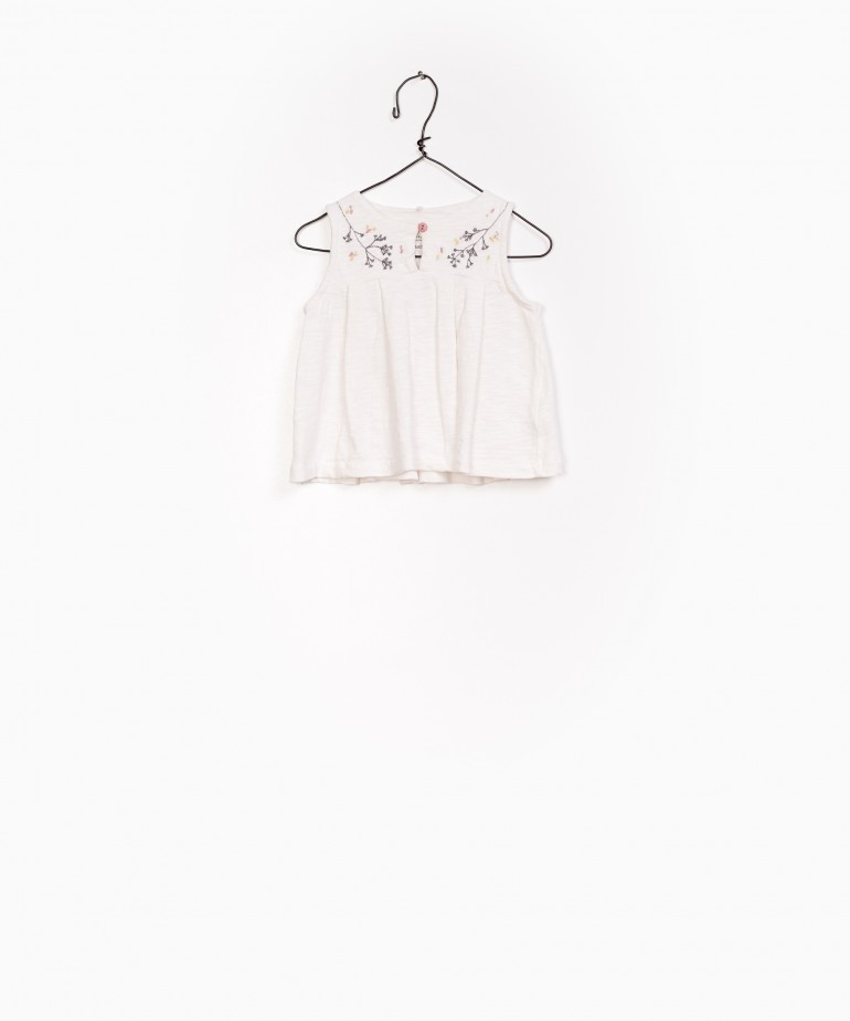 Organic cotton blouse