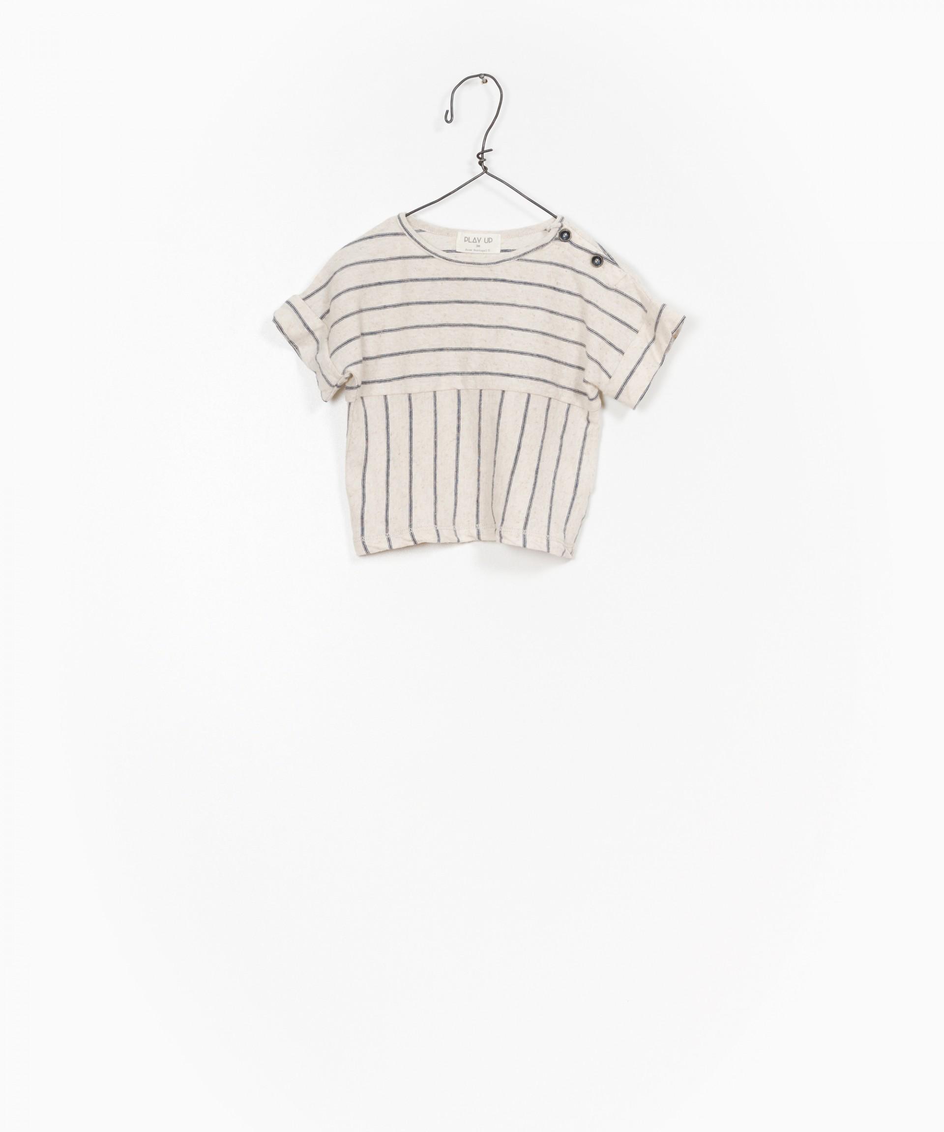 T-shirt Jersey Rayas