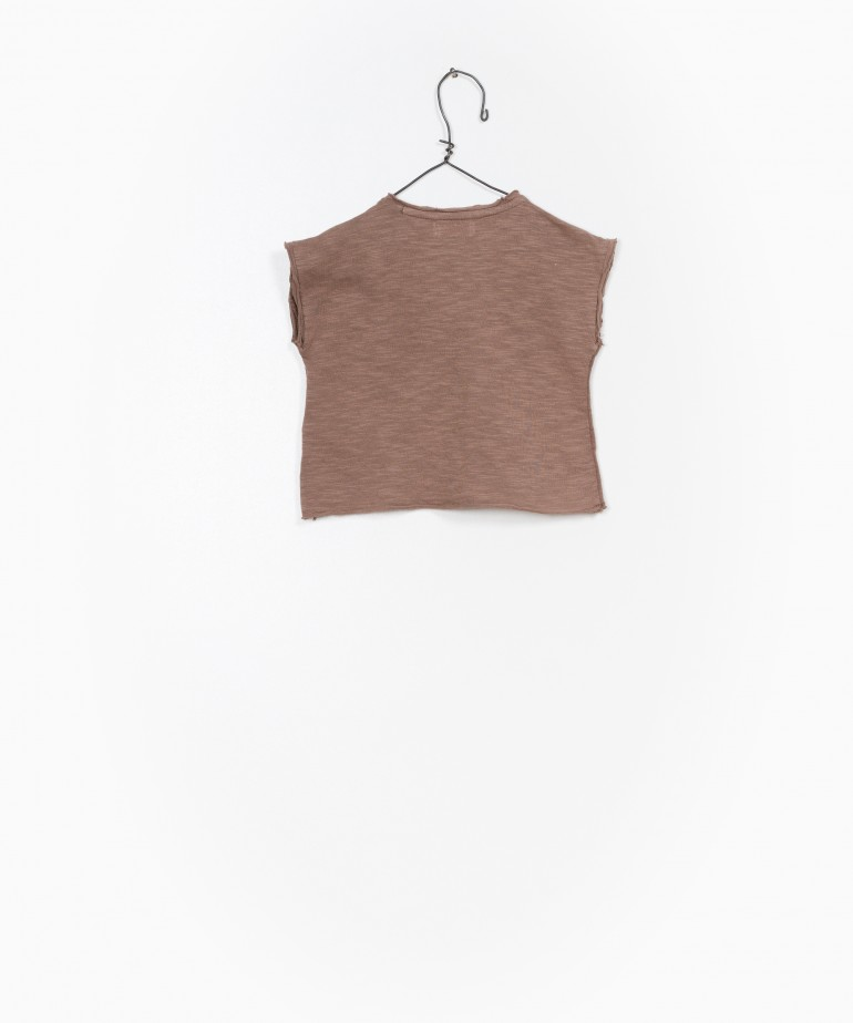 Jersey Sleeveless T-shirt