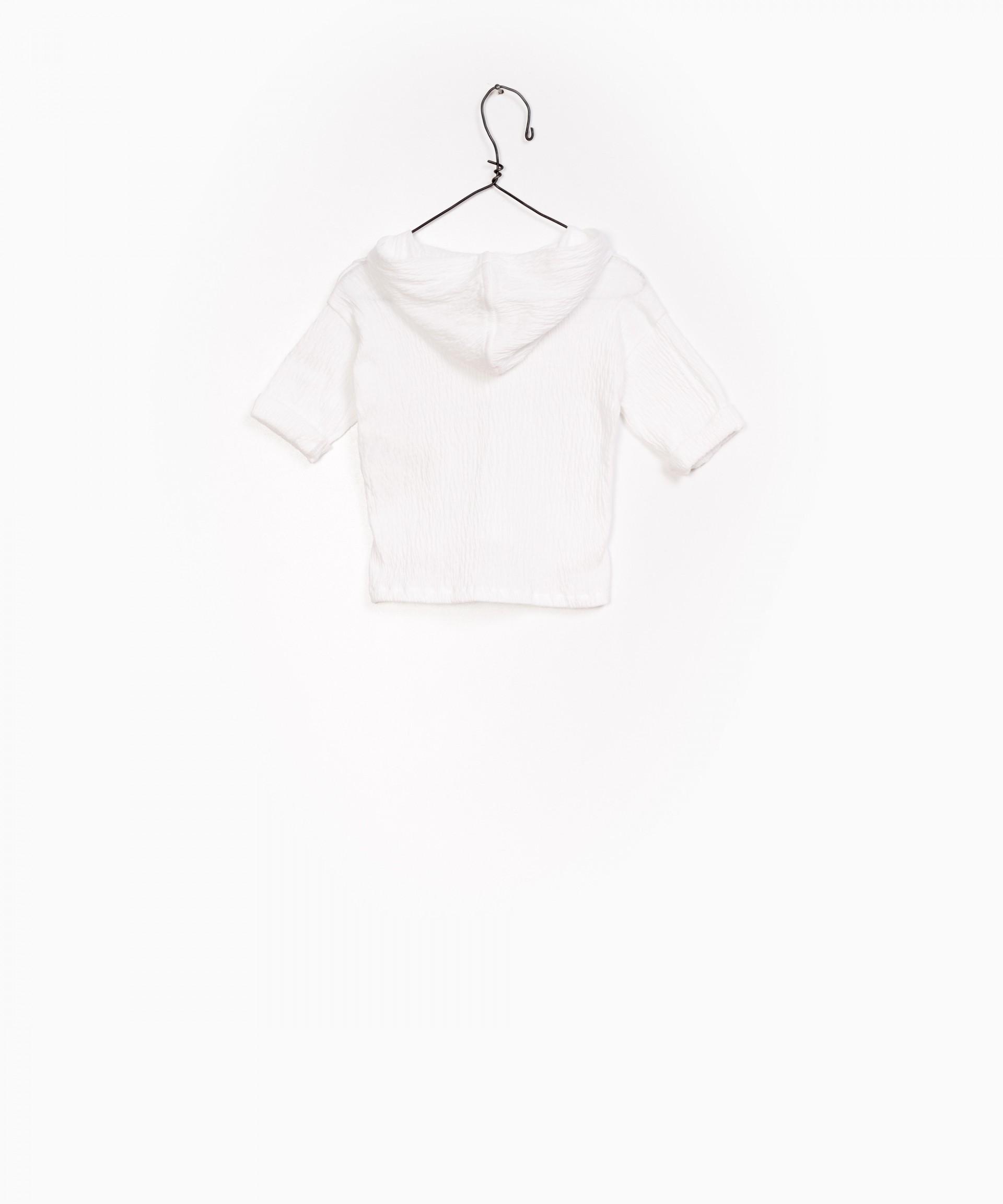 Camisa Jersey com capuz