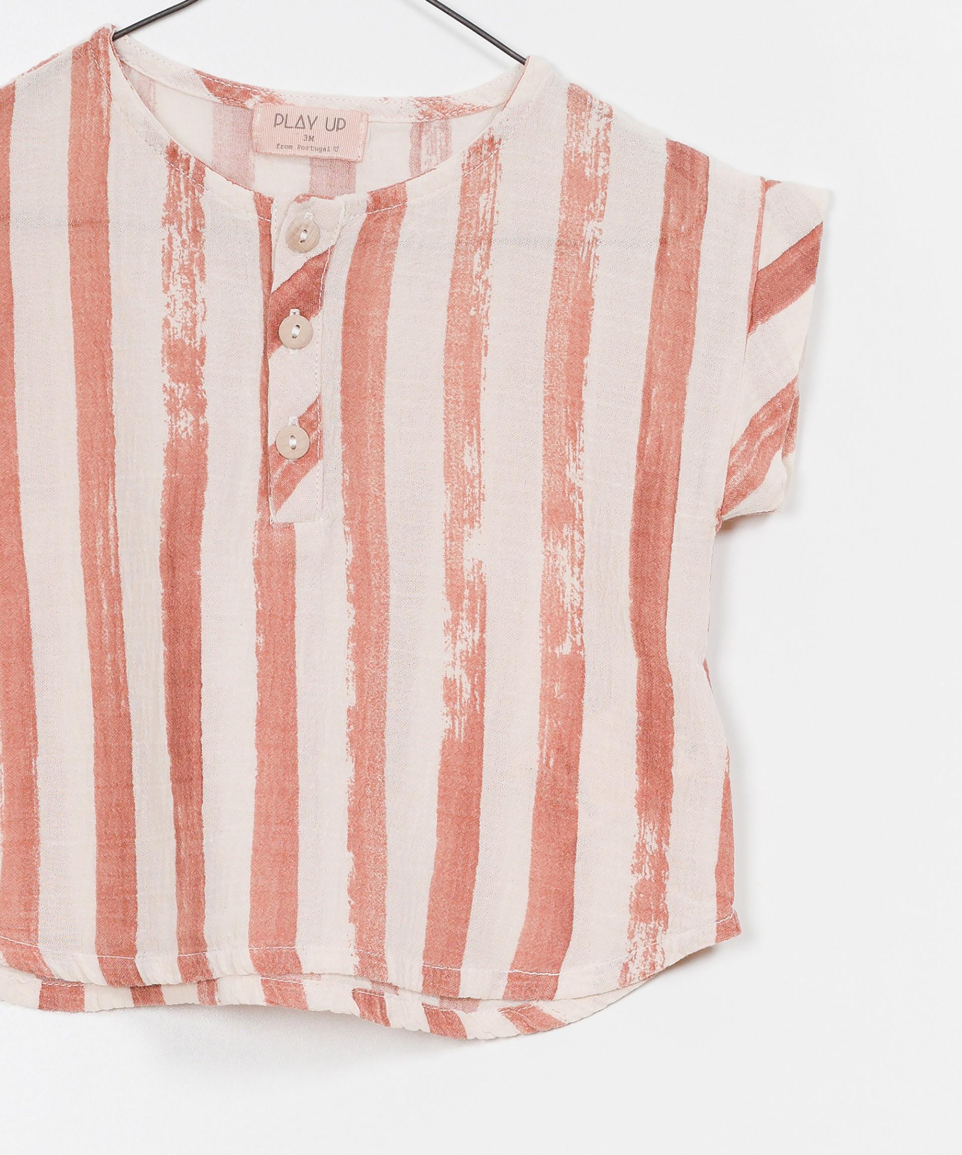 Camisa Tecido Riscas