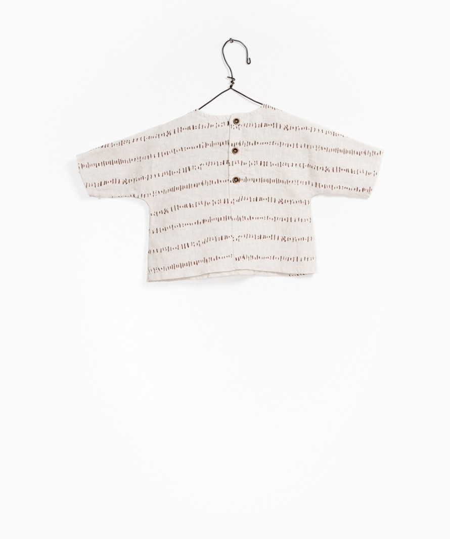 Camisa Linho Estampado