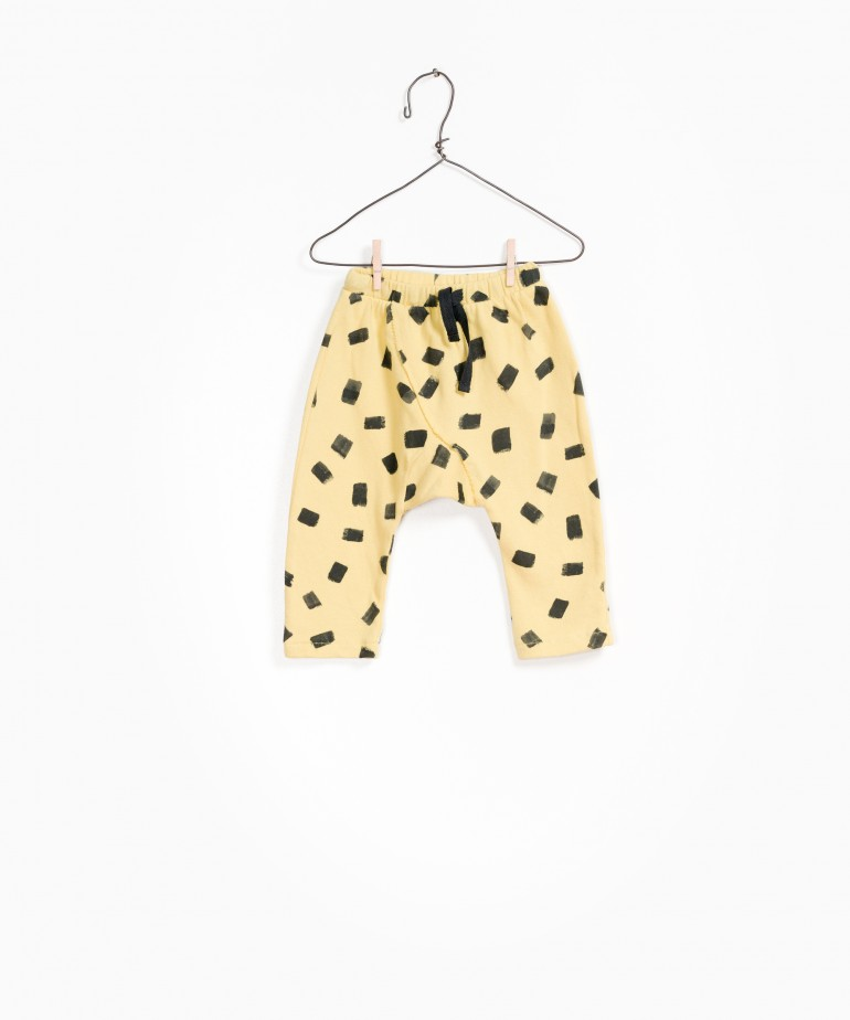 Printed Fleece Trousers