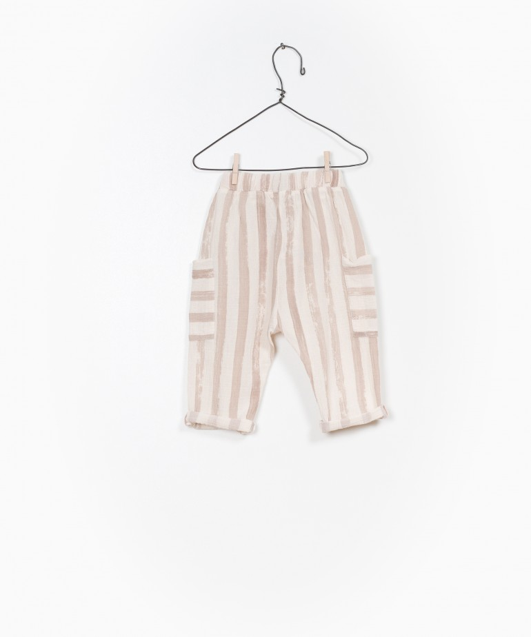 Pantalón Tejido Estampado
