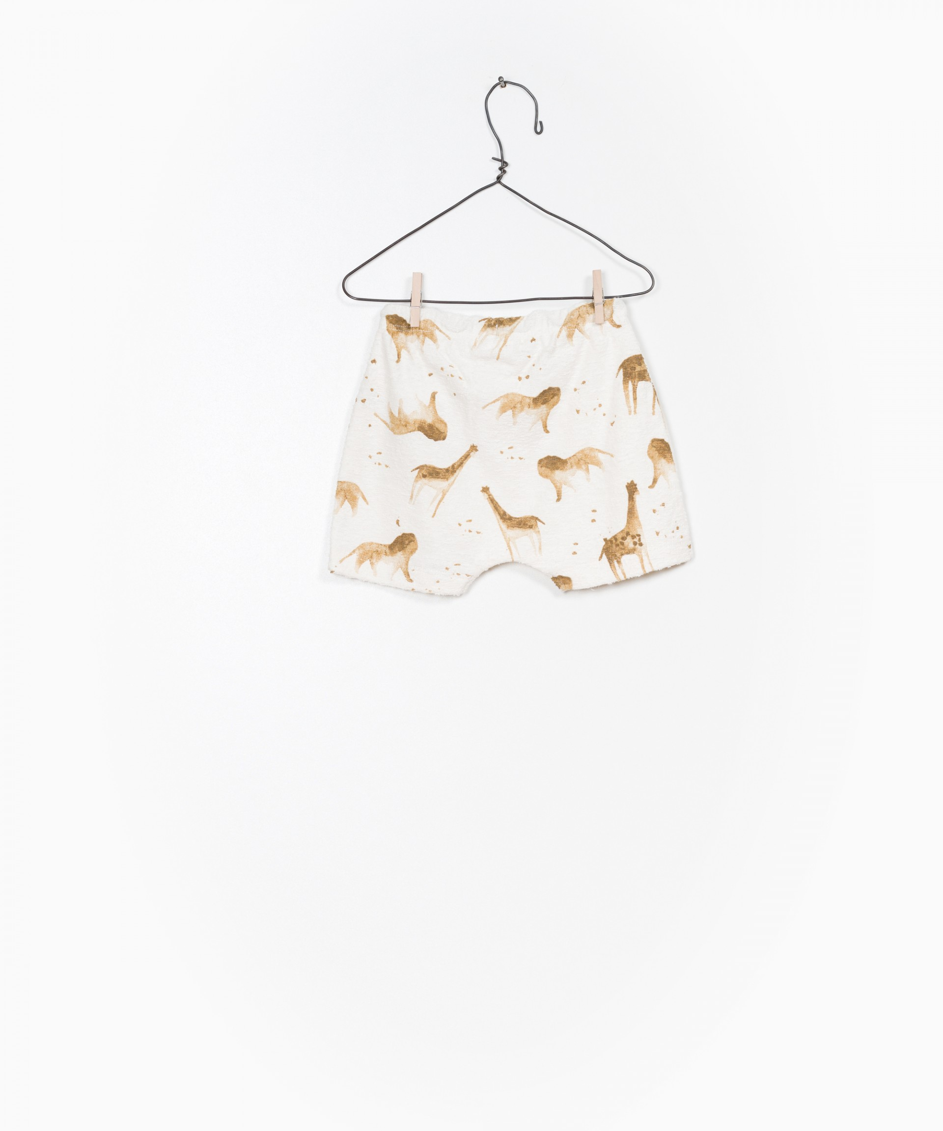 Printed Terry Shorts