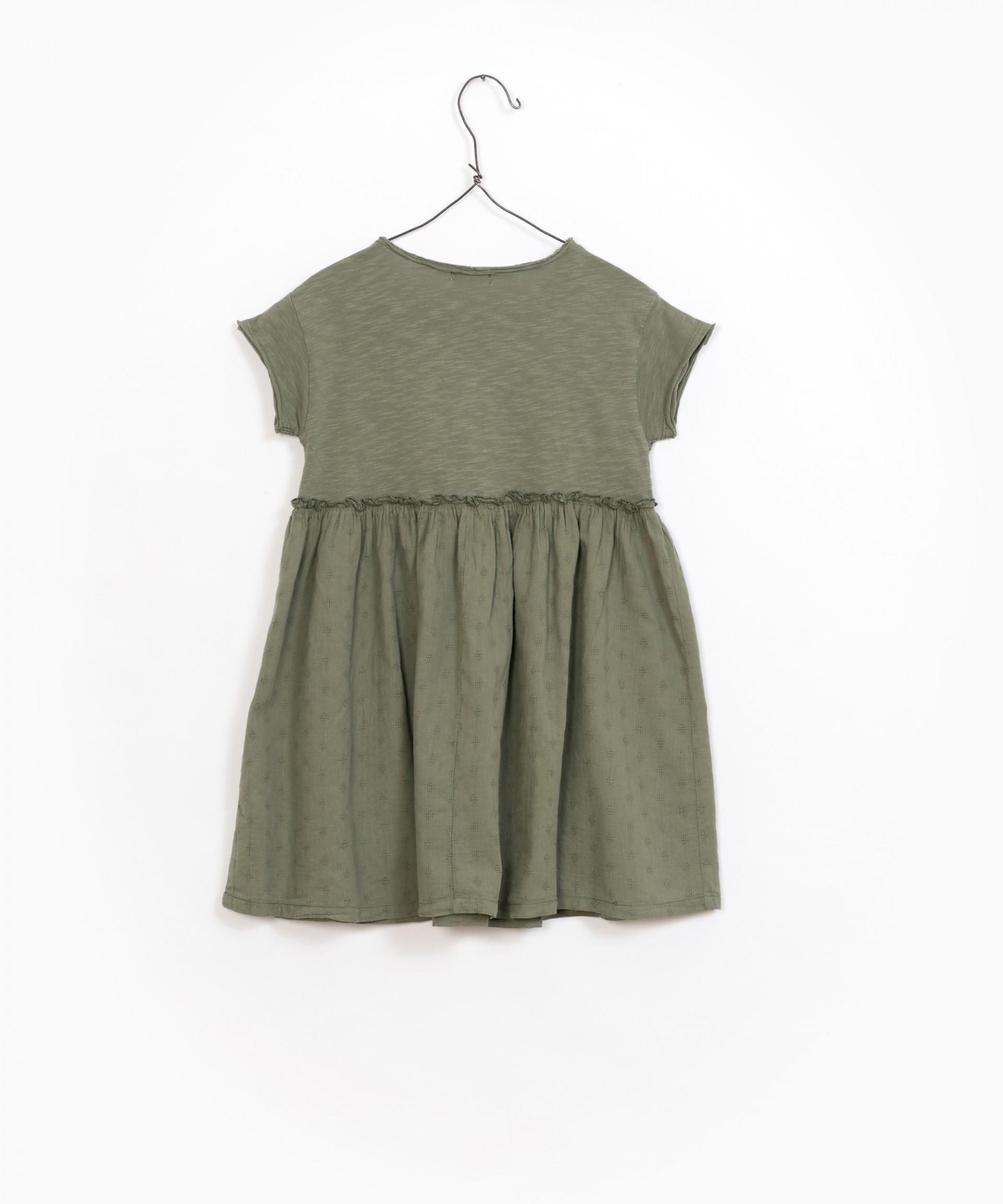 Vestido 100% algodão orgânico