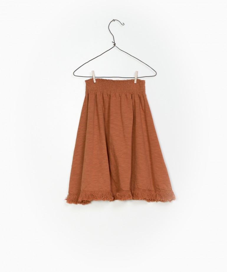 Flamé Jersey Skirt