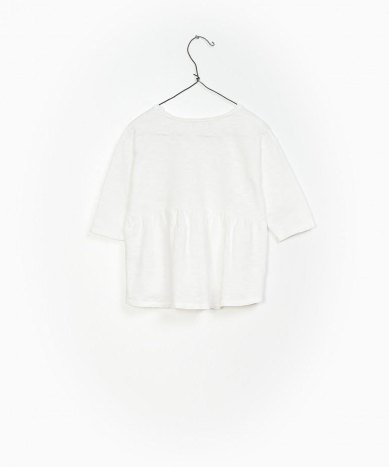 T-shirt evasé