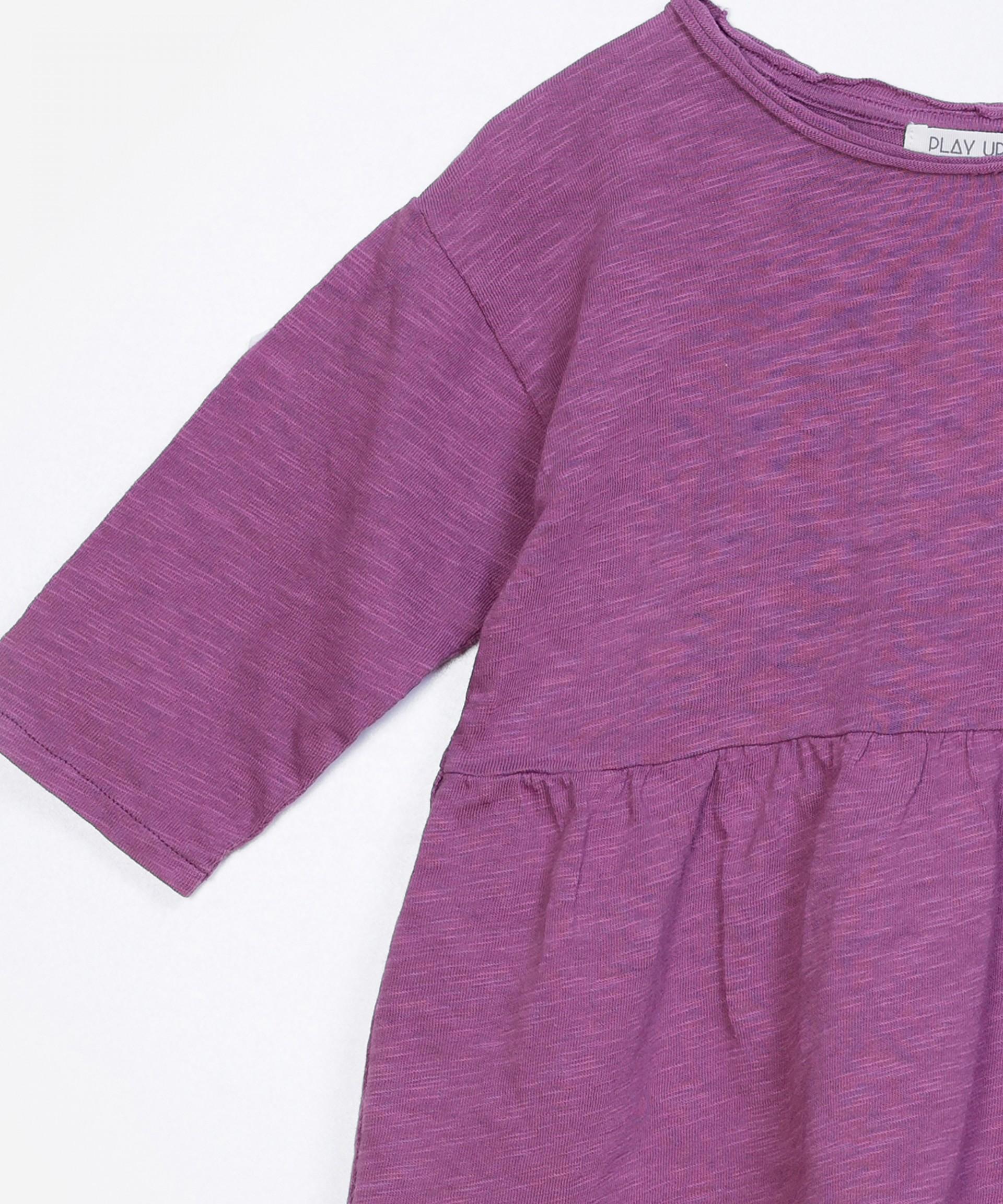 T-Shirt evasé 100% algodão orgânico