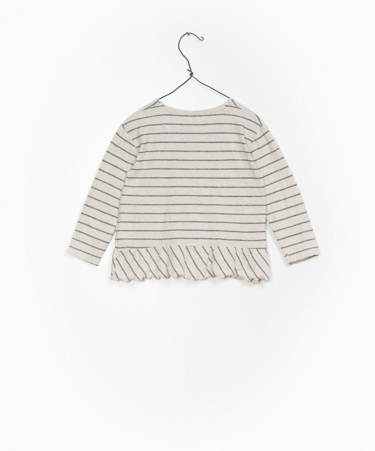 Striped Jersey LS T-shirt