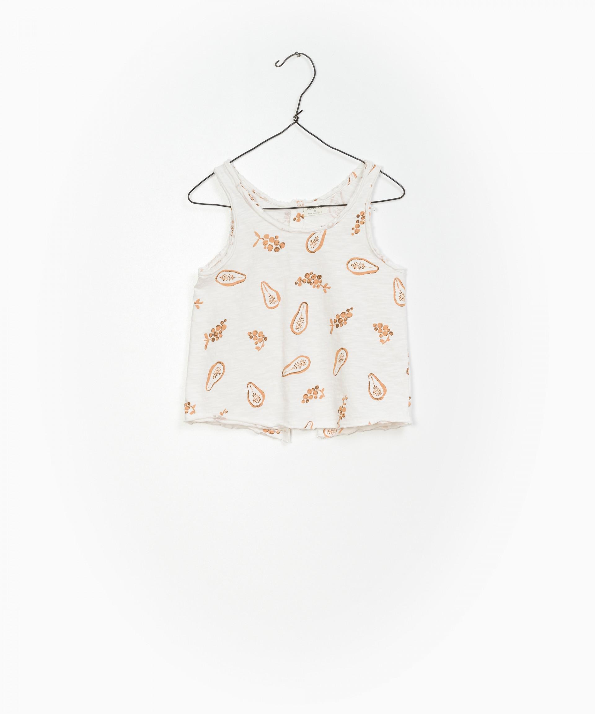 Printed Flamé Jersey Singlet