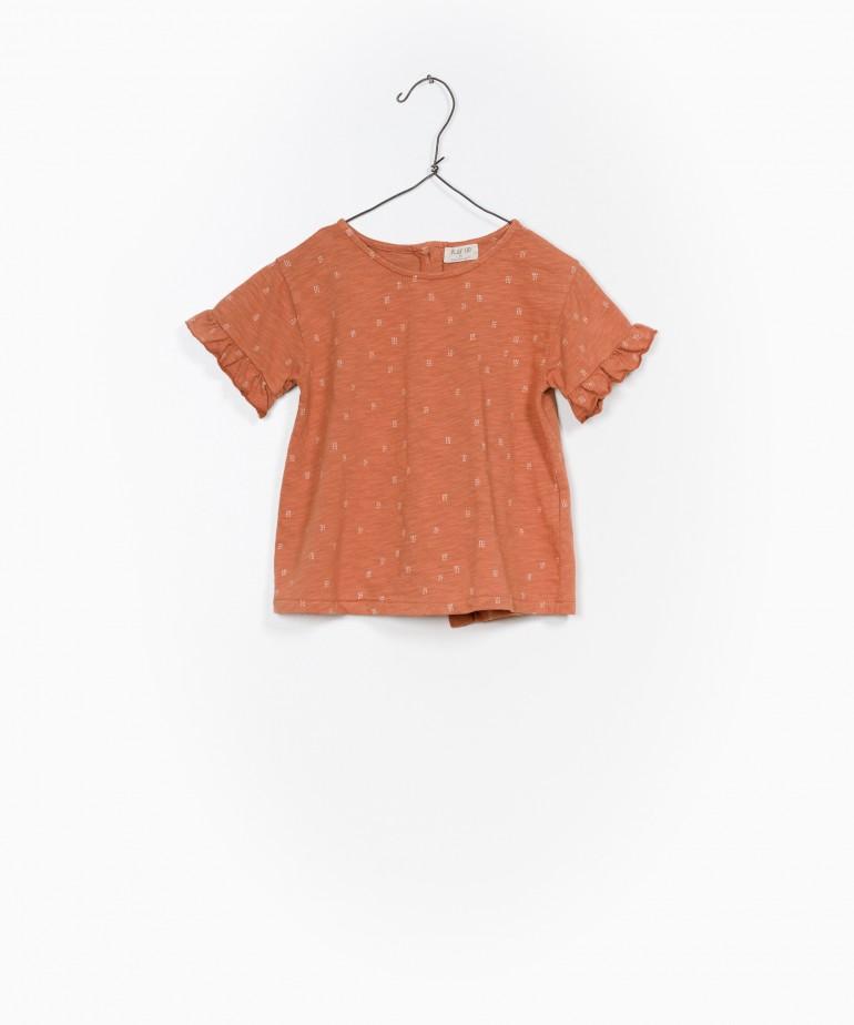 Printed Flamé Jersey Tunic