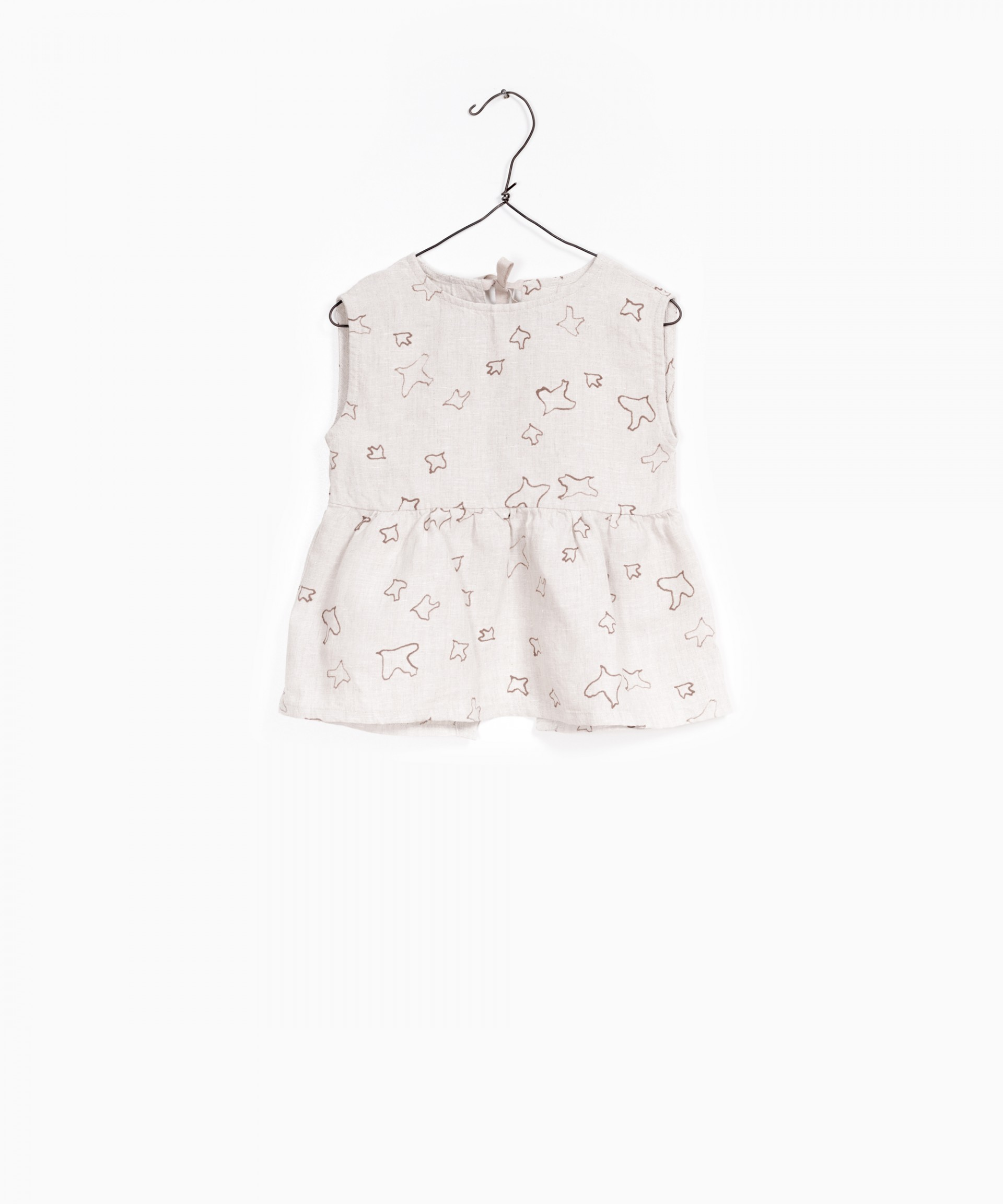 Printed Linen Tunic