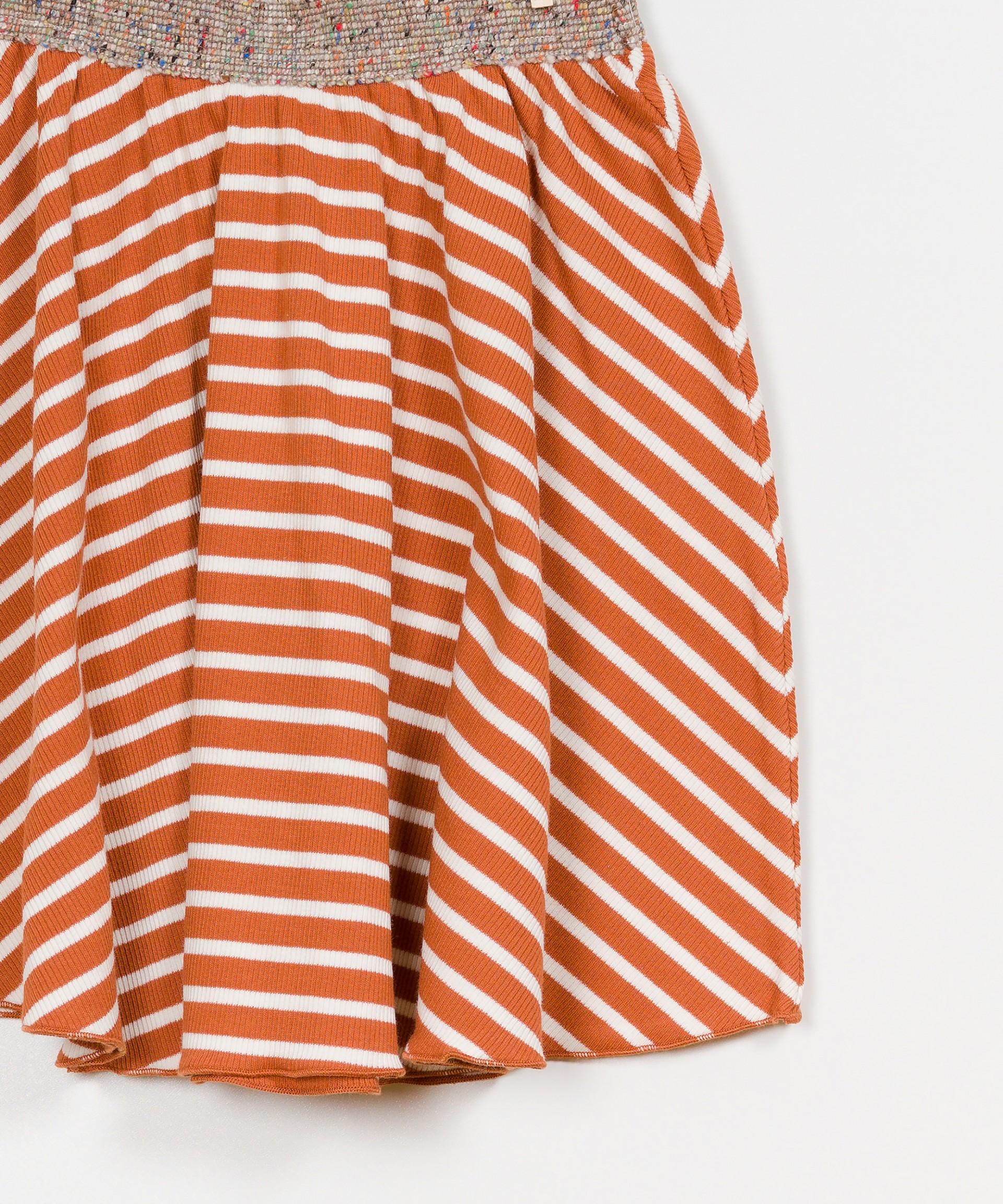 Striped RIB Skirt