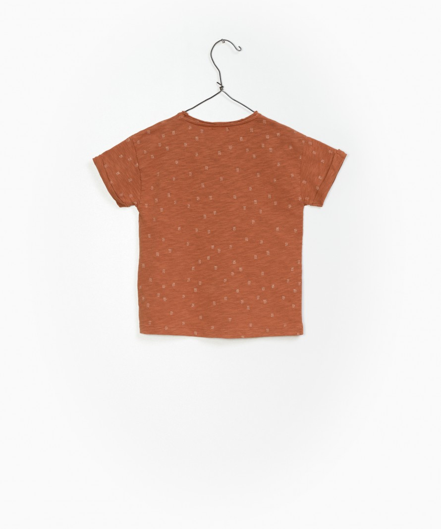 Printed Flamê Jersey T-shirt