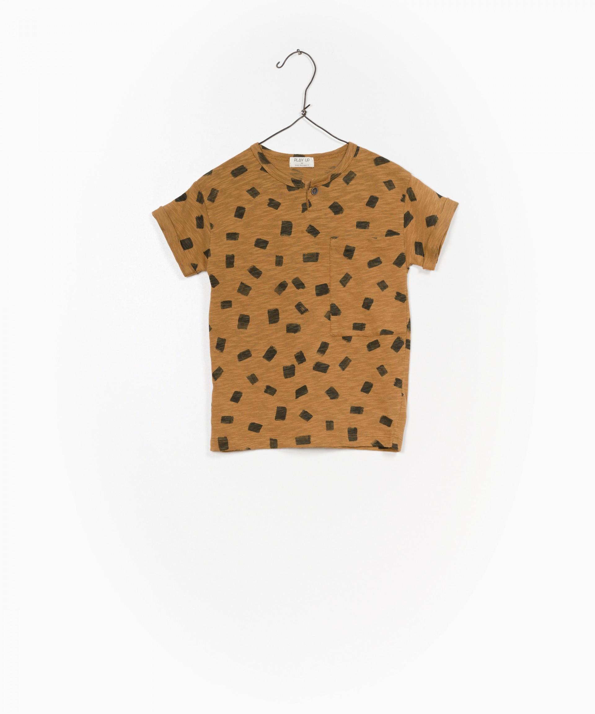 T-shirt Jersey Flamê Estampado