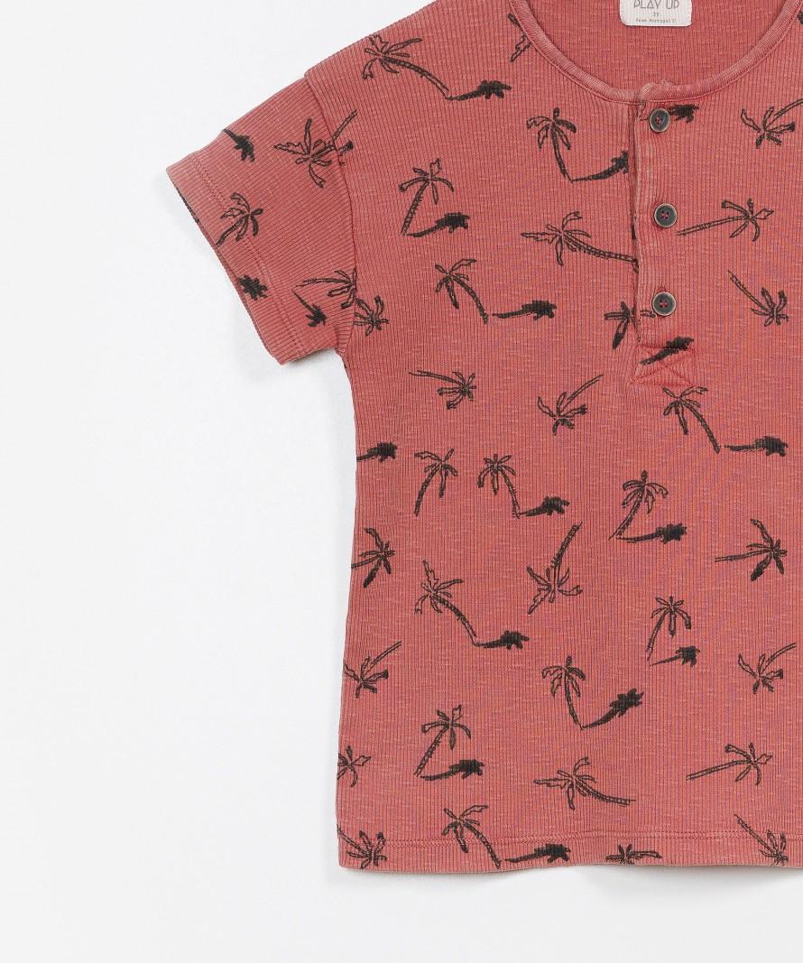 Striped Flamé RIB T-shirt