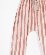 Pantalón en Tejido Estampado