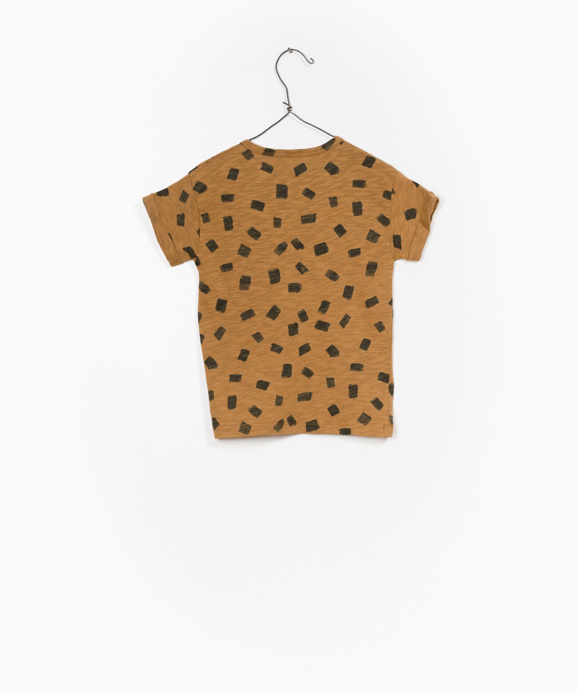 Printed Flamé Jersey T-shirt