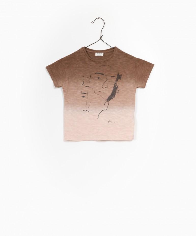 T-Shirt Jersey Flamé
