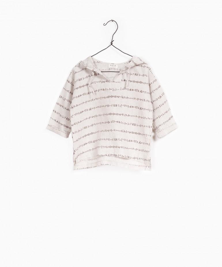 Printed Linen Shirt