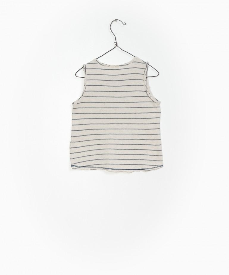 Striped Jersey Singlet
