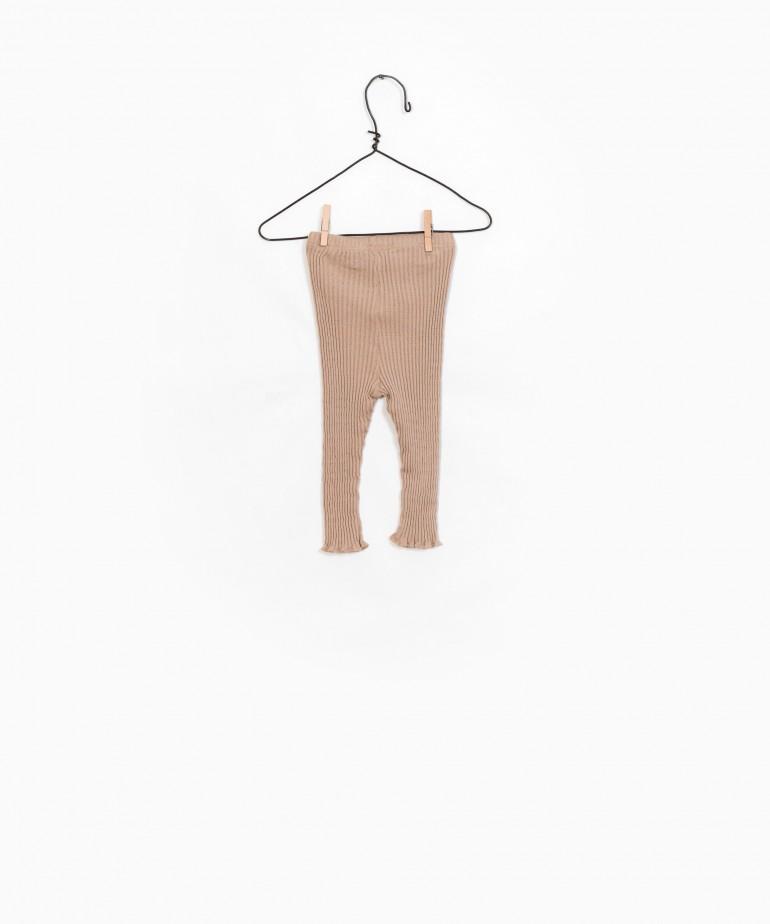 Pantalones Rib