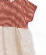 Vestido Tejidos Mixtos