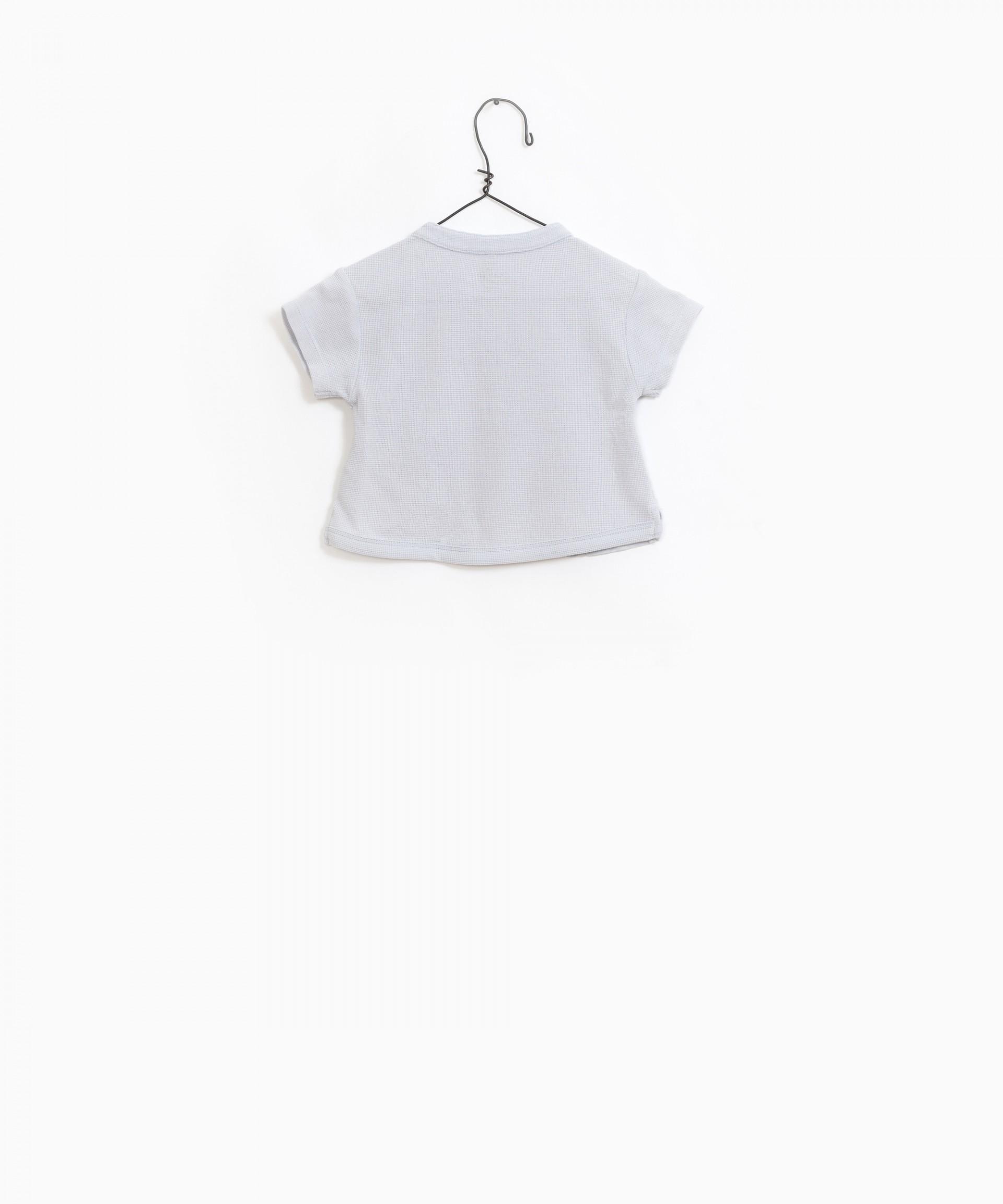 T-shirt mistura algodão orgânico