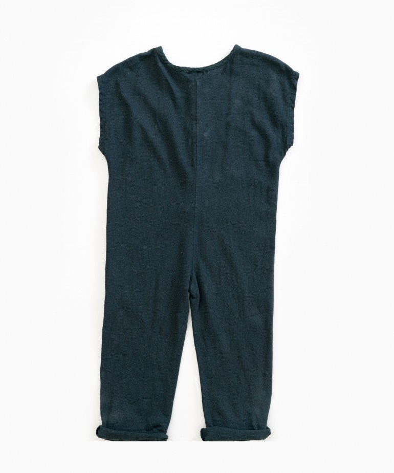Mixed Jumpsuit
