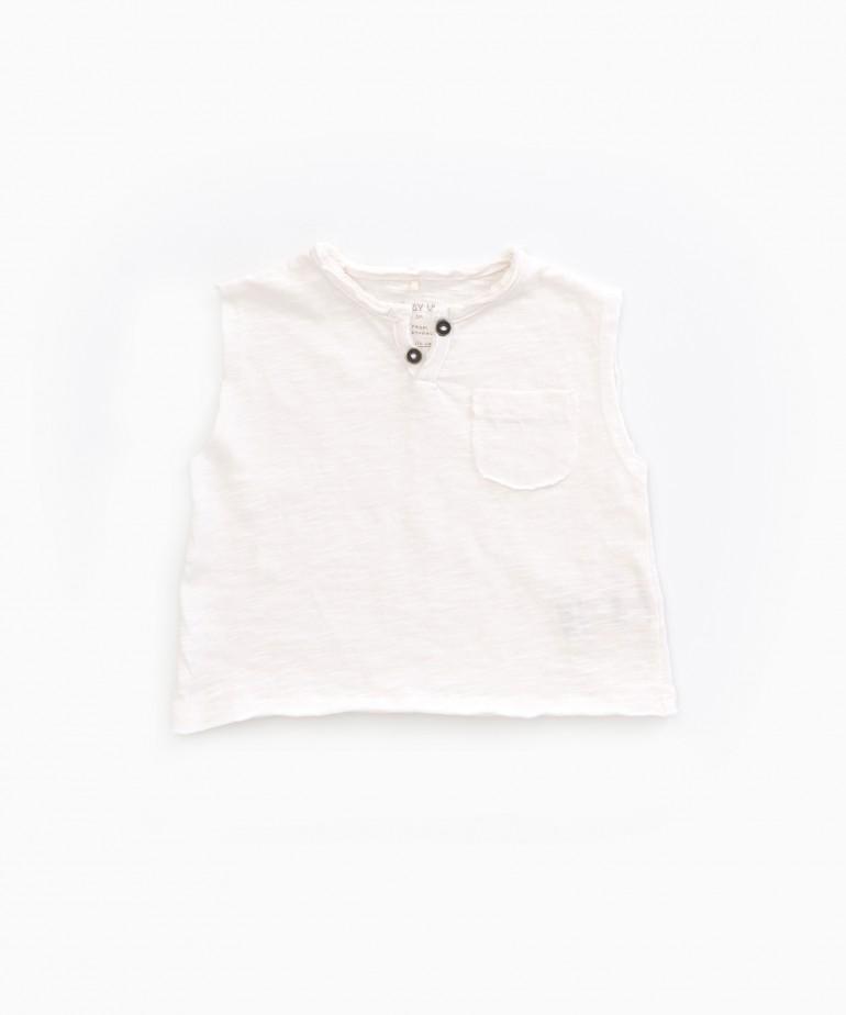 Flamé Jersey Sleeveless T-shirt